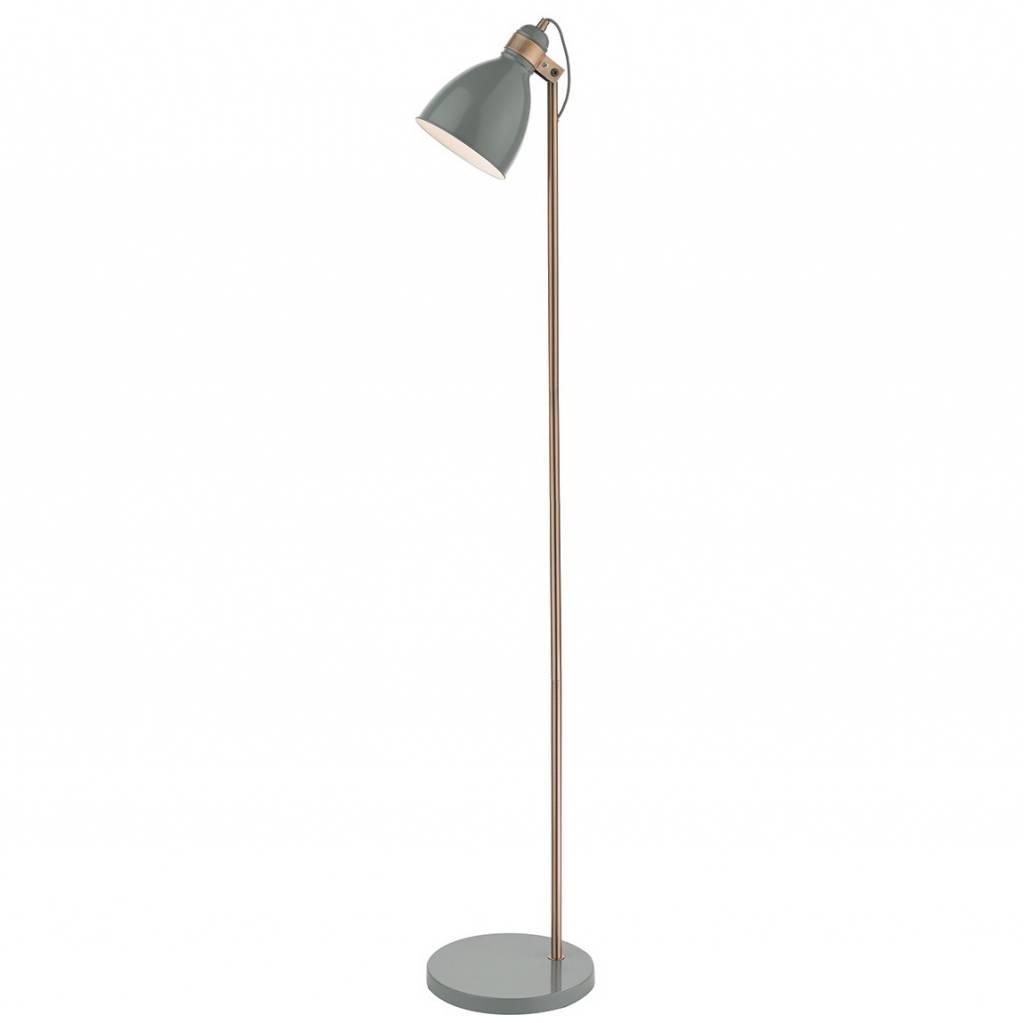 Nordic Grey Copper Floor Lamp