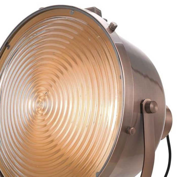Studio Search Light Floor Lamp - Antique Copper