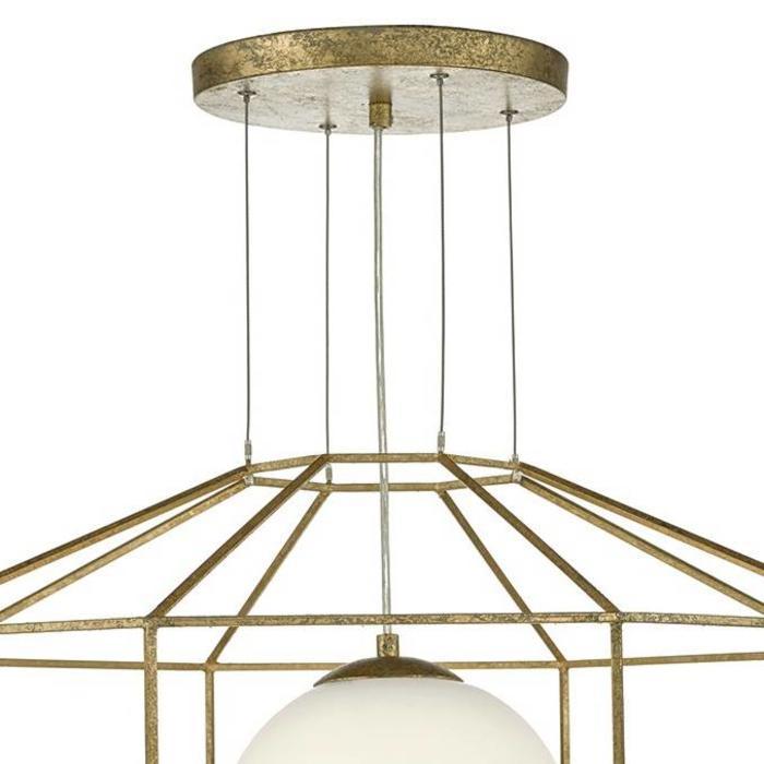 Large Antique Gold Pendant