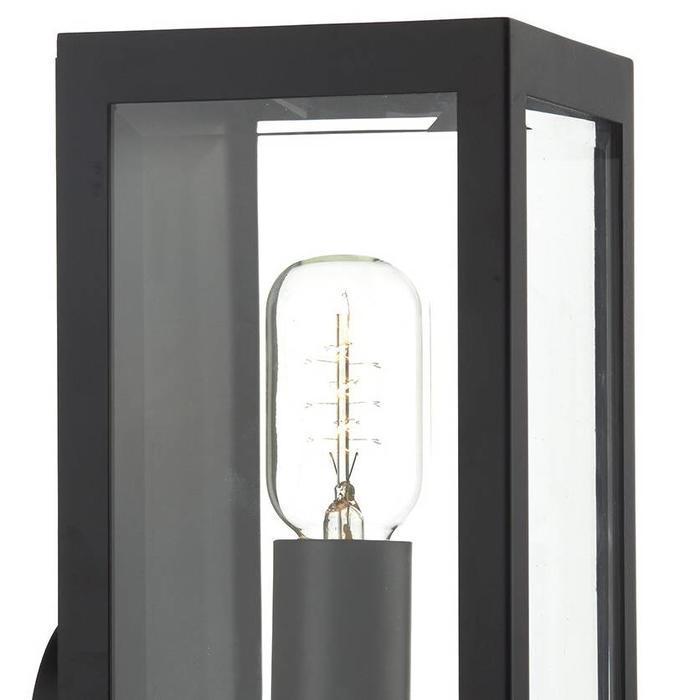 Box - Outdoor Wall Light - Black
