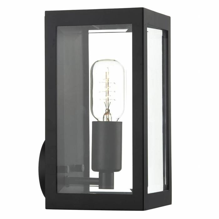 Box - Outdoor Wall Light - Black