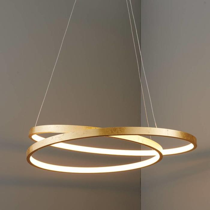 Cypher - Gold Leaf LED Ring