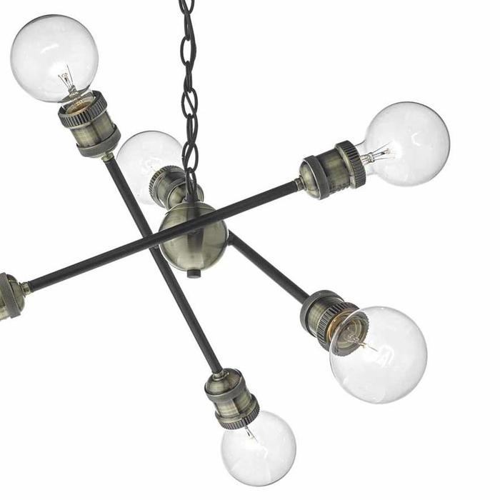 Darby - Industrial Sputnik Feature Pendant