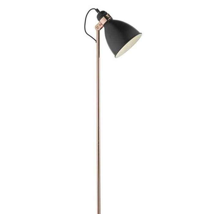 Nordic Black & Copper Floor Lamp