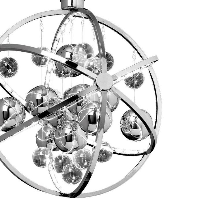 Orbital Pendant - LED- Polished Chrome