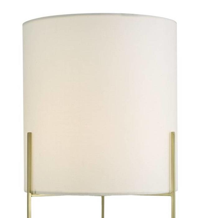 Mikael - Modern Satin Gold Table Lamp