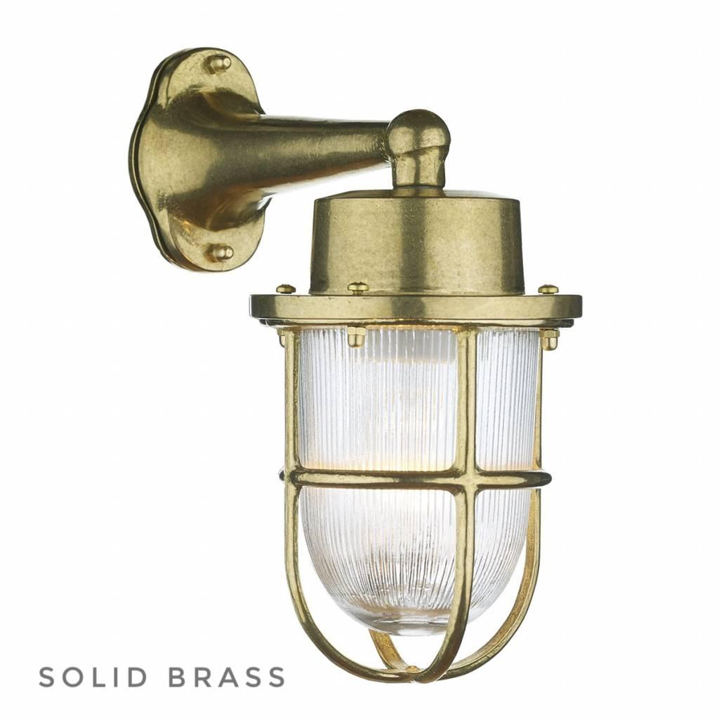 Port solid brass outdoor wall light