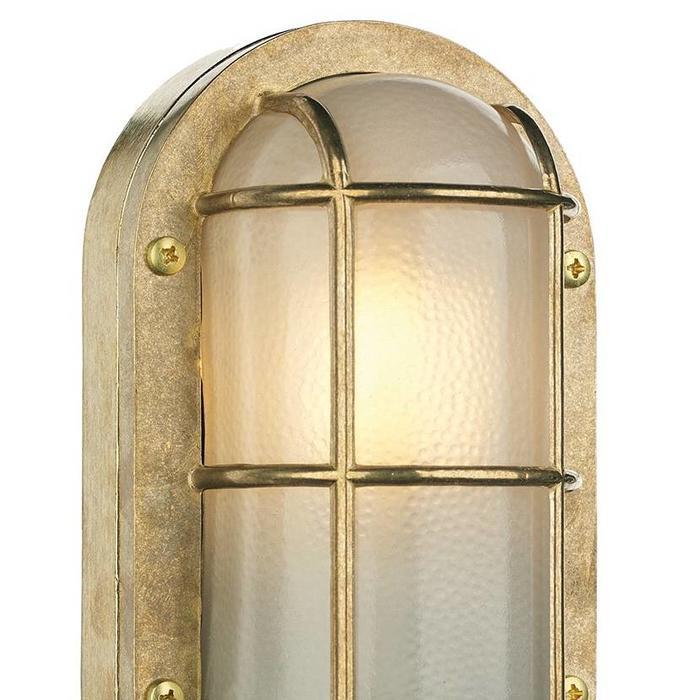Phare - Solid Brass Bulkhead Outdoor Wall Light