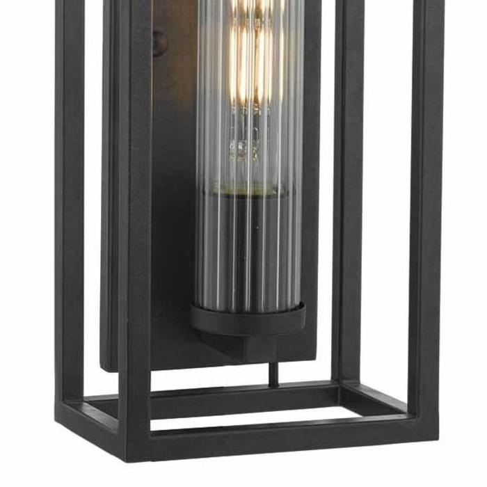 Philip -  Modern Industrial Black Wall Light