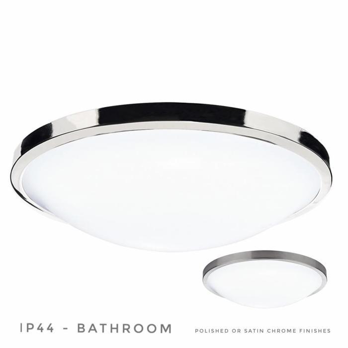 Glover - Flush Bathroom Fitting - Polished or Satin