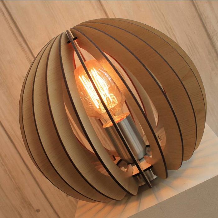 Maple Wood Table Lamp