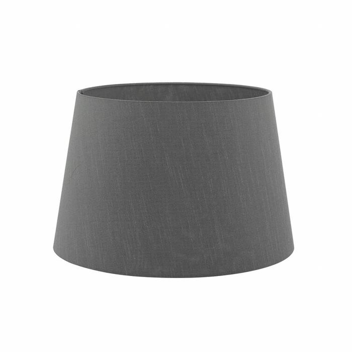 Hoyle - Hand Cast Solid Brass Candlestick Base with Slate Grey Shade