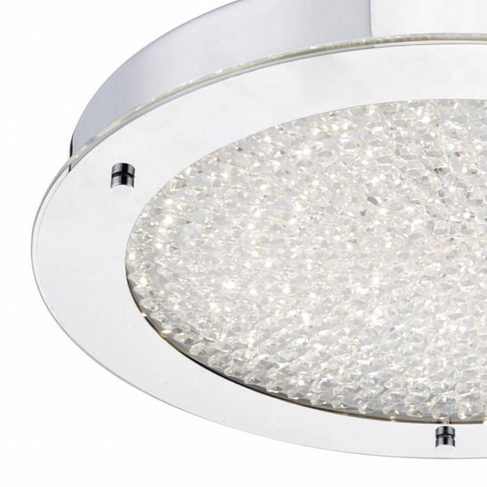 Cristallo - Flush Crystal Bathroom Fitting - Large