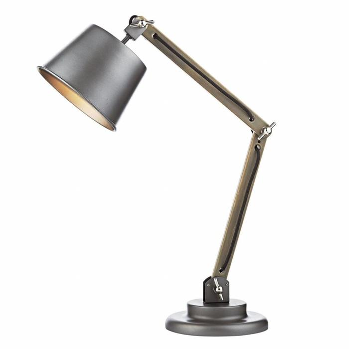 Arken - Industrial Wood Table Lamp