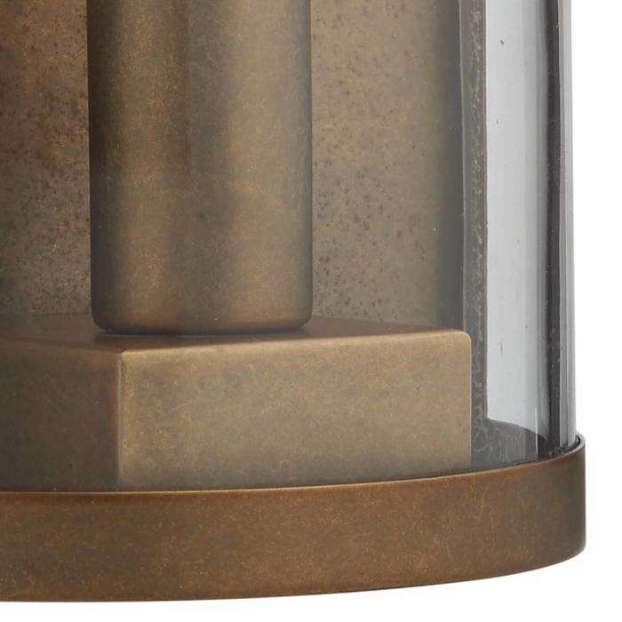 Dusk - Natural Brass Outdoor Wall Light