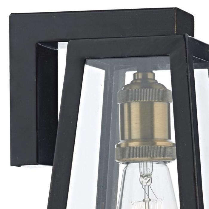 Duv - Black Outdoor Wall Light