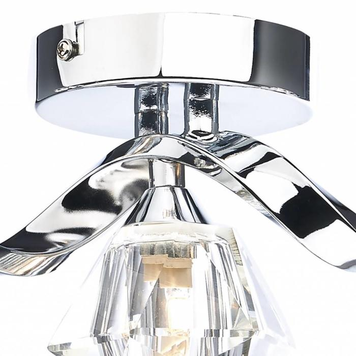 Ancona - 5 Light Bar Flush - Polished Chrome