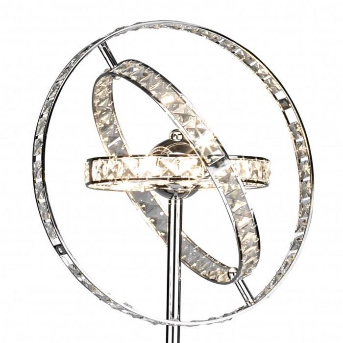 Eternal - Crystal Rings Floor Lamp
