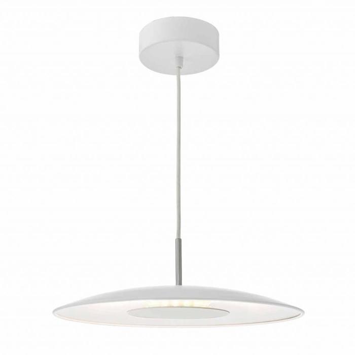 Enoch - Scandi Modern White LED Pendant