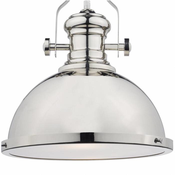 Arrow - Polished Chrome Industrial Pendant