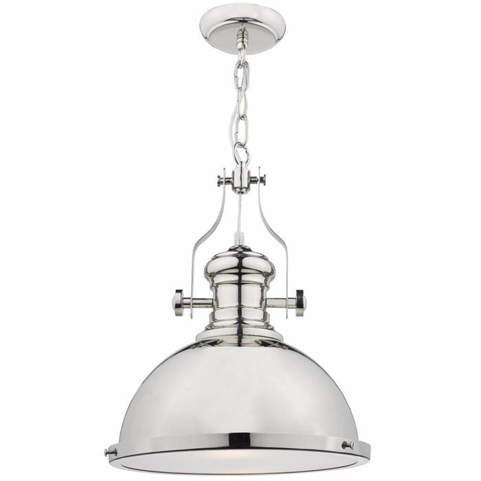 Arona - Polished Chrome Industrial Pendant