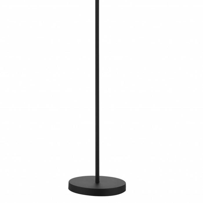 Ash - Black & Polished Chrome Floor Lamp