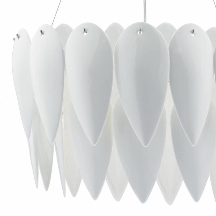 Phillipa - White Ceramic Pendant