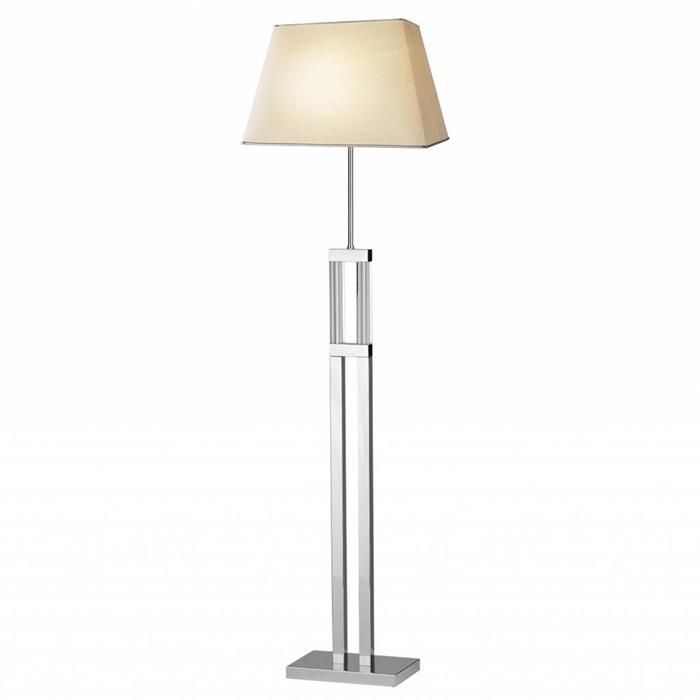 Art Deco Quartz Crystal Floor Lamp