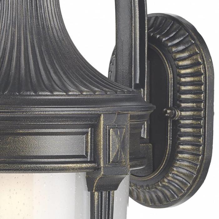 Richmond -  Classic  Outdoor Wall Light - Black/Gold