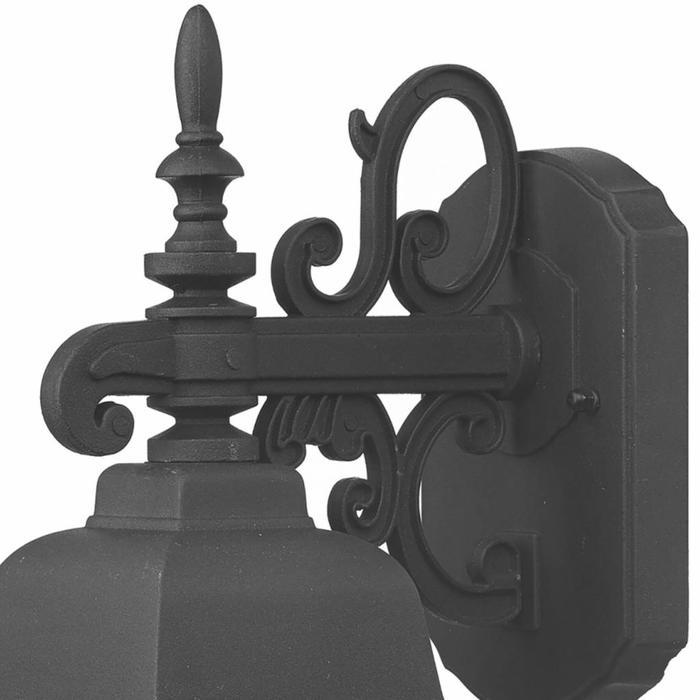Norfolk - Ornate Classic Black Outdoor Light