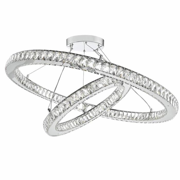 Wonder - LED K9 Crystal Double Hoop Feature Light