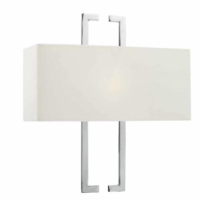 Nile - Contemporary   Wall Light - Polished Chrome