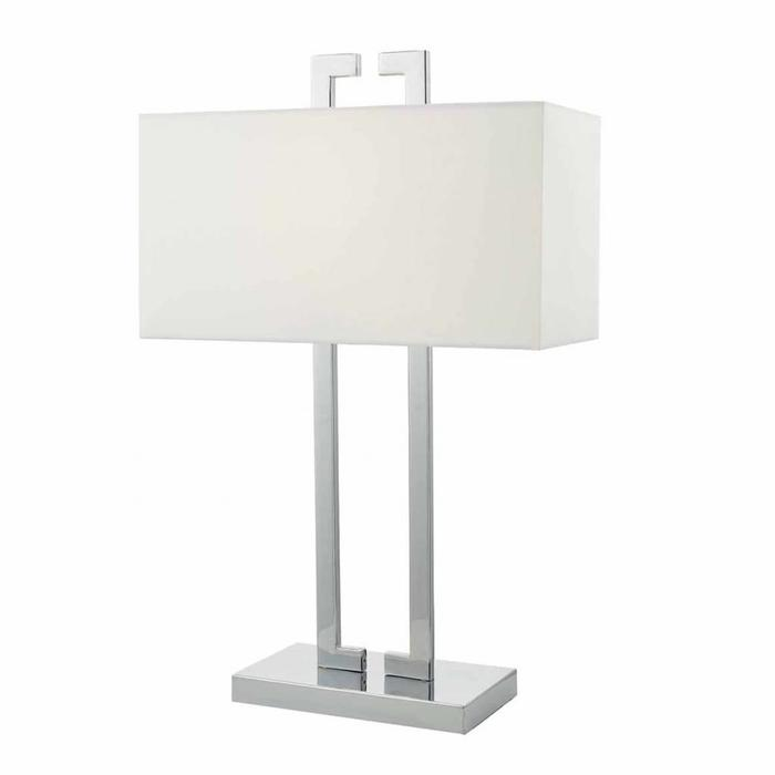 Nile - Contemporary Table Lamp - Polished Chrome