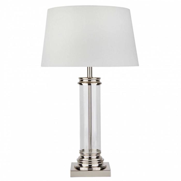 Column - Classic Glass Column Table Lamp