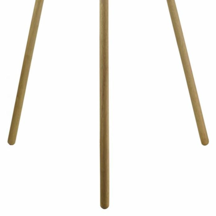 Adda - Grey & Wood Tripod Floor Lamp