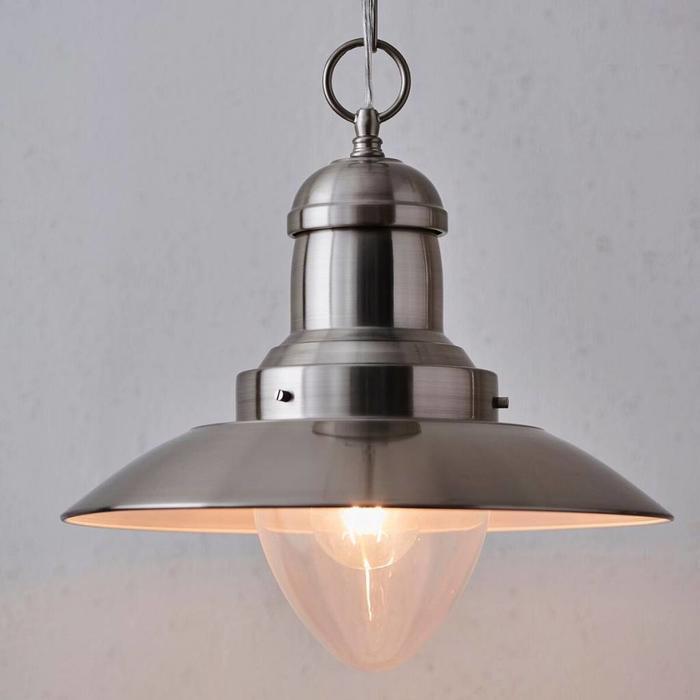 Fisherman's Lantern - Satin Nickel