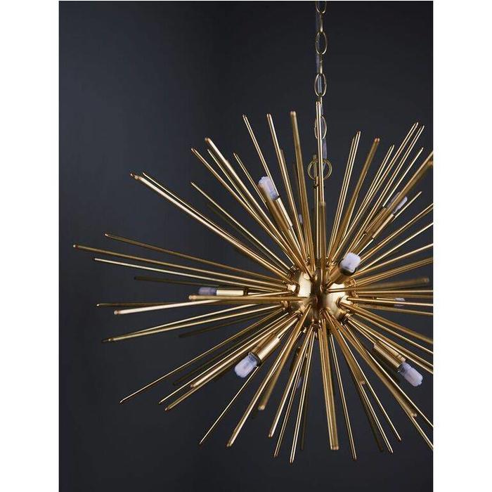 Orca - Satin Gold Sputnik Feature Light