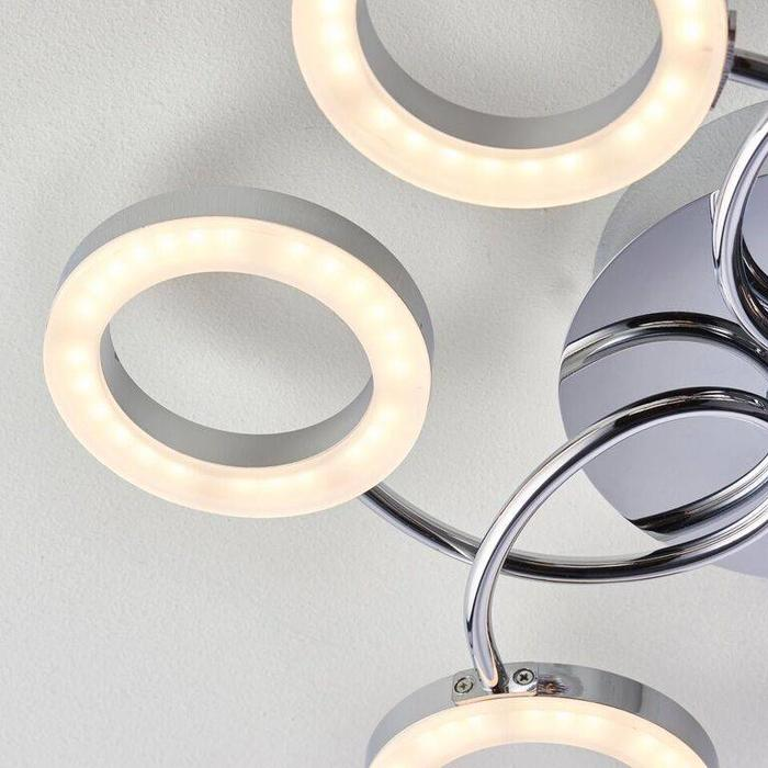 Hoops - Ultra modern LED Semi Flush Ceiling Light