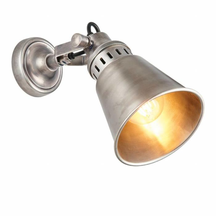Classic Vintage Antique Silver Wall Light