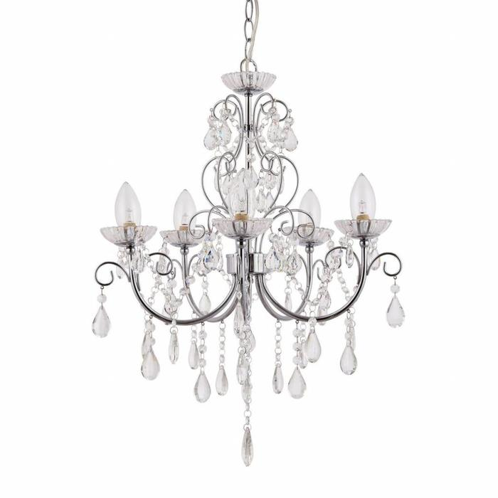 Tabby - 5 Light Bathroom Chandelier - IP44