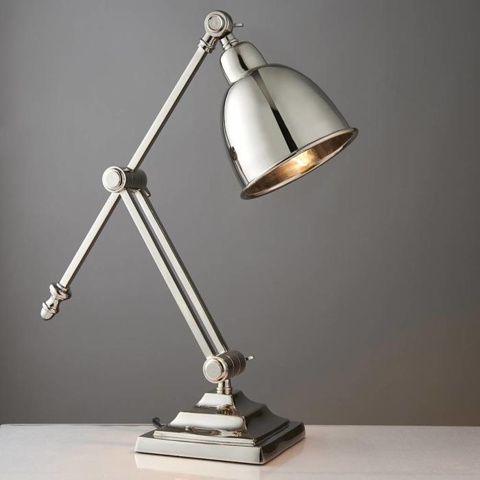 Raski - Desk Lamp - Polished Nickel