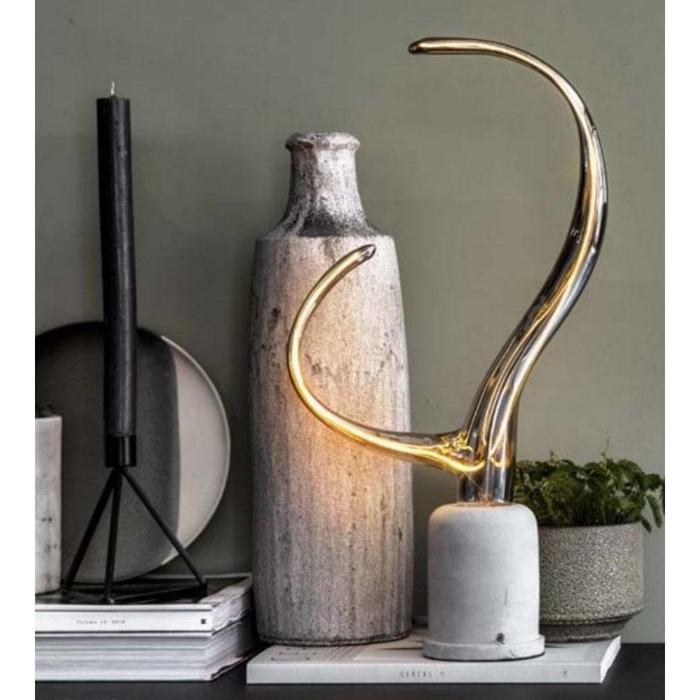 Klaxon - Exclusive Decorative LED light bulb - Titanium
