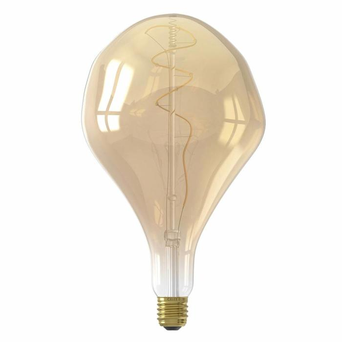 Organic - Giant Decorative LED Light Bulb - Gold
