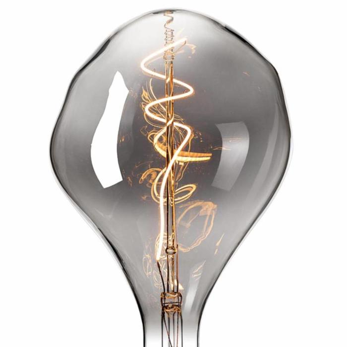 Organic - Giant Decorative LED Light Bulb - Titanium