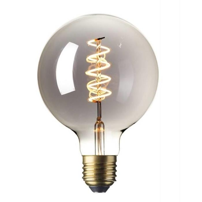 Decorative Globe LED Light Bulb - Titanium