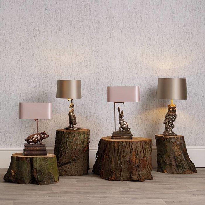 Horace Pig Table Lamp - David Hunt