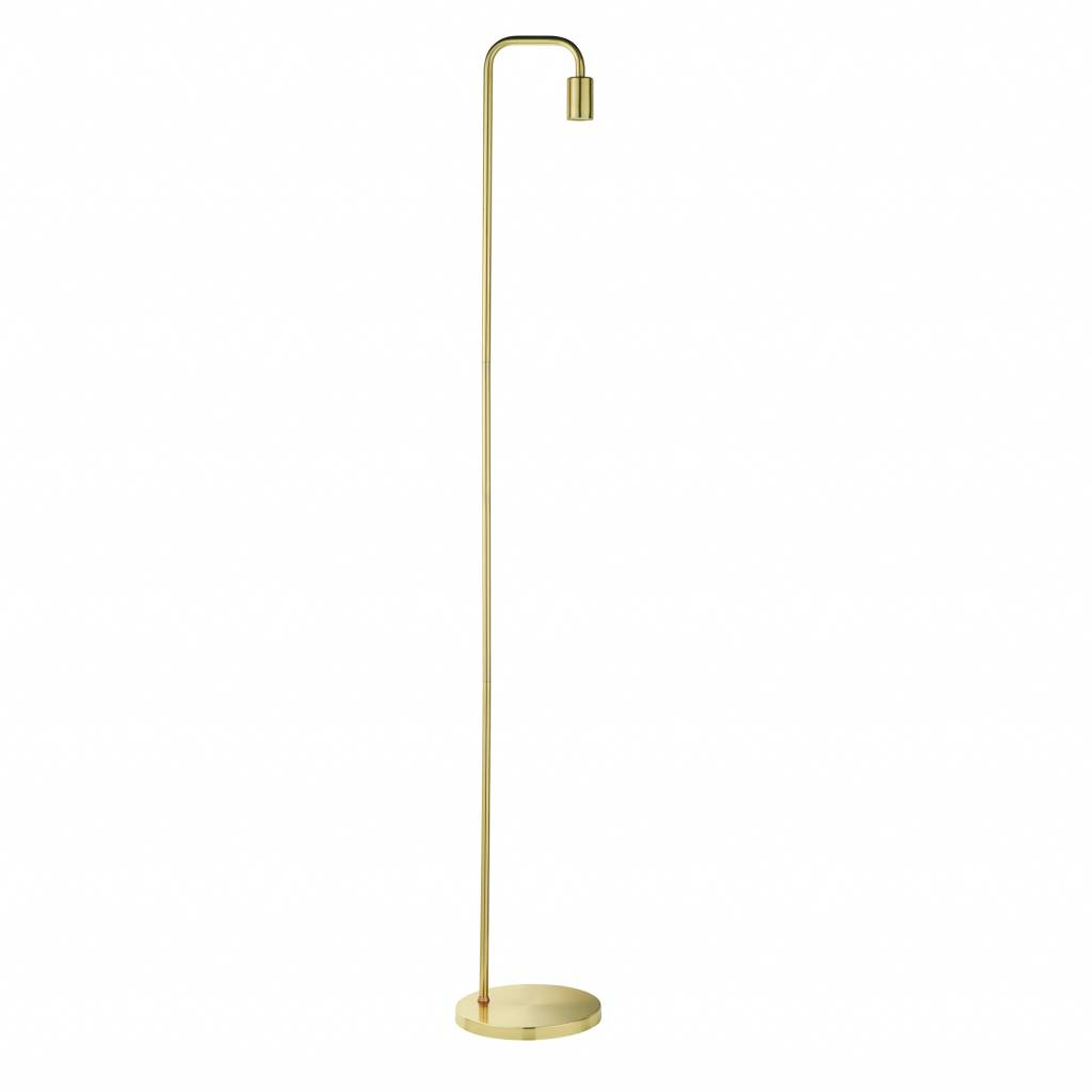 Rubin Mid Century Stick Floor Lamp Brass Lightbox