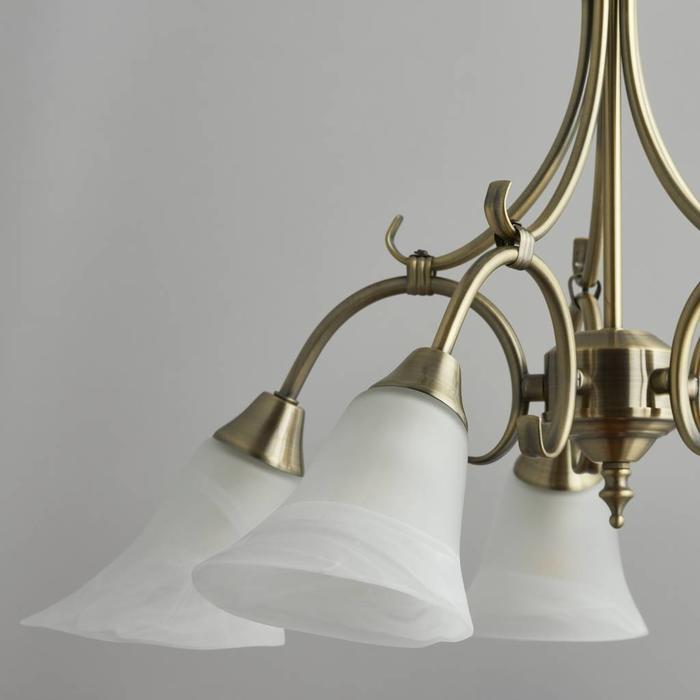 Hardaker - Classic 5 Antique Brass Pendant
