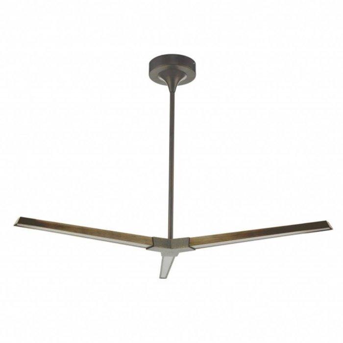 Rotary - Modern Bronze LED 3 Light Ceiling Fitting