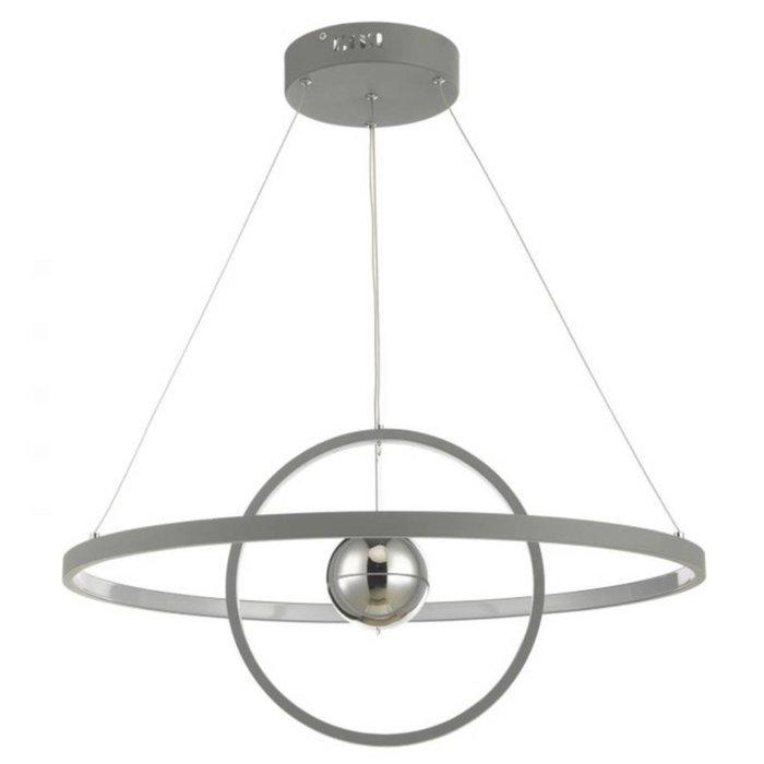 Radius - Matt Grey LED Feature Ceiling Light - Large